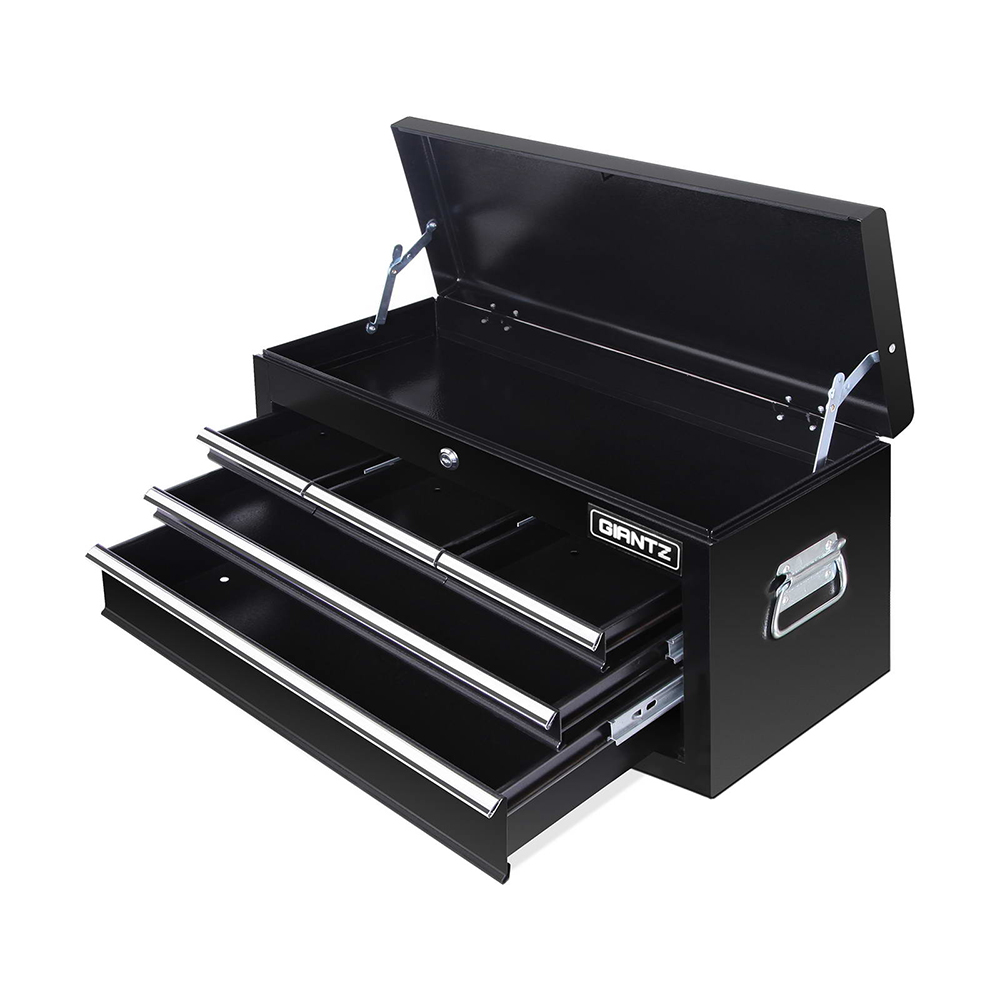 7 Drawer Mechanic Tool Box Chest Trolley Wheels Lockable Metal ...