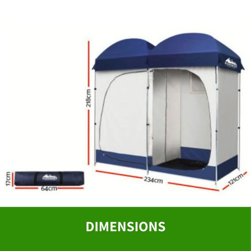 Details about Toilet Tent Shower Camping Outdoor Portable Change Room Ensuite New Loo Cover