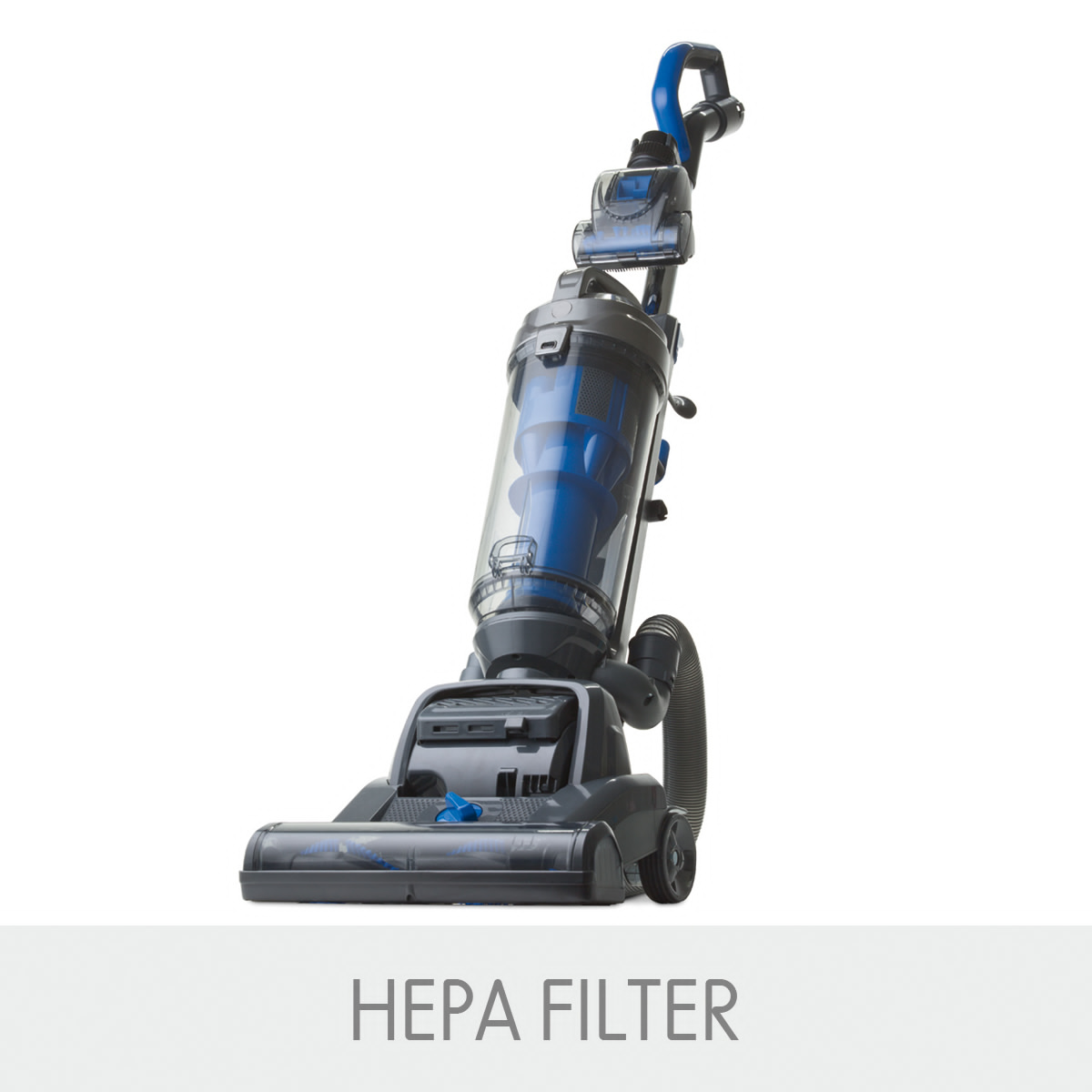 1200w Upright Vacuum Cleaner Hepa Filter Pet Hair Turbo
