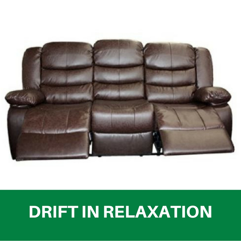 Brown Leather Sofa Ebay: WHOLESALE BRAND NEW Recliner Sofa Lounge 3 Seater Bonded