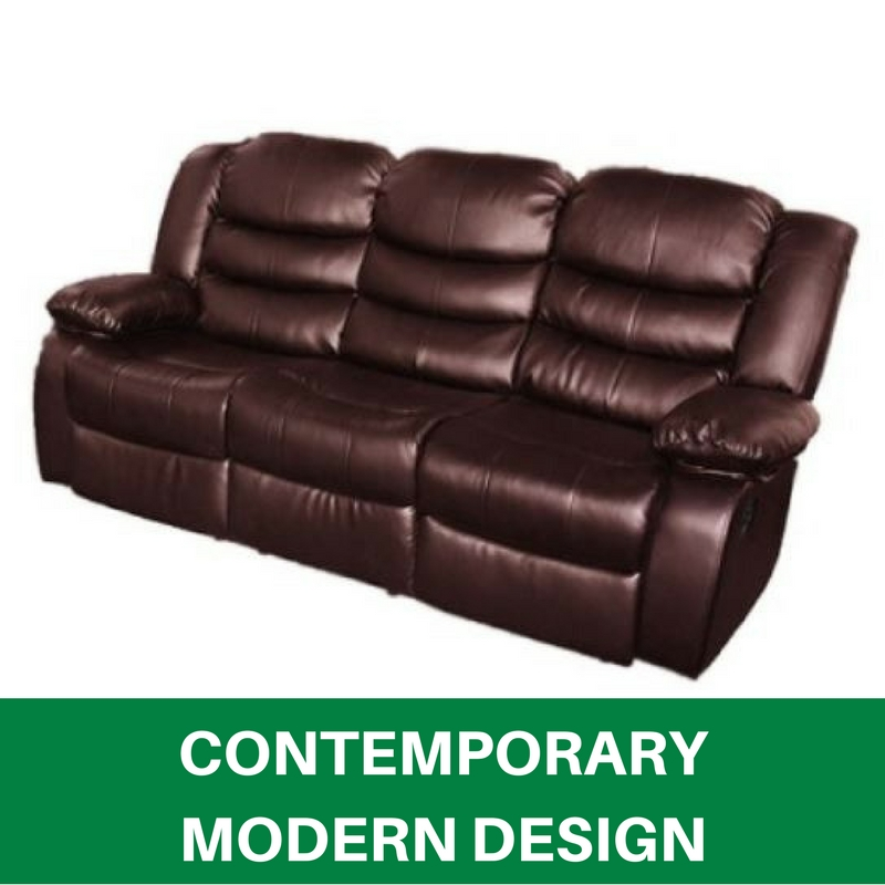 Best Leather Reclining Sofa Brands: WHOLESALE BRAND NEW Recliner Sofa Lounge 3 Seater Bonded