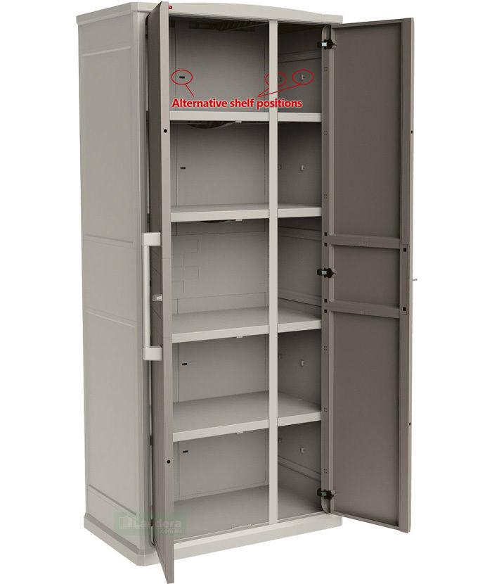 Keter Optima Wonder Outdoor Storage Cabinet Indoor 1 8 M