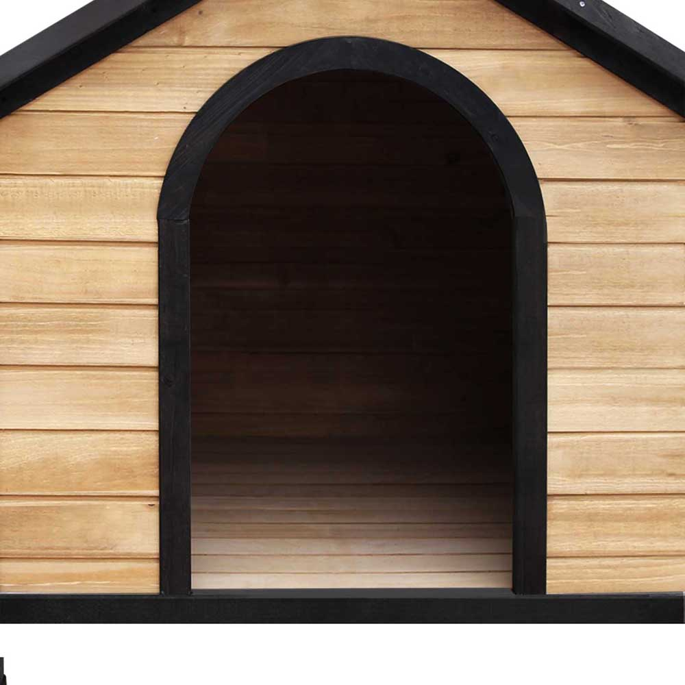 Pet Dog Kennel Timber House Extra Large Wooden Cabin Log