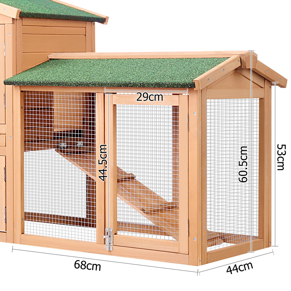 chicken hutches open hutch and palermo rabbit pisces run