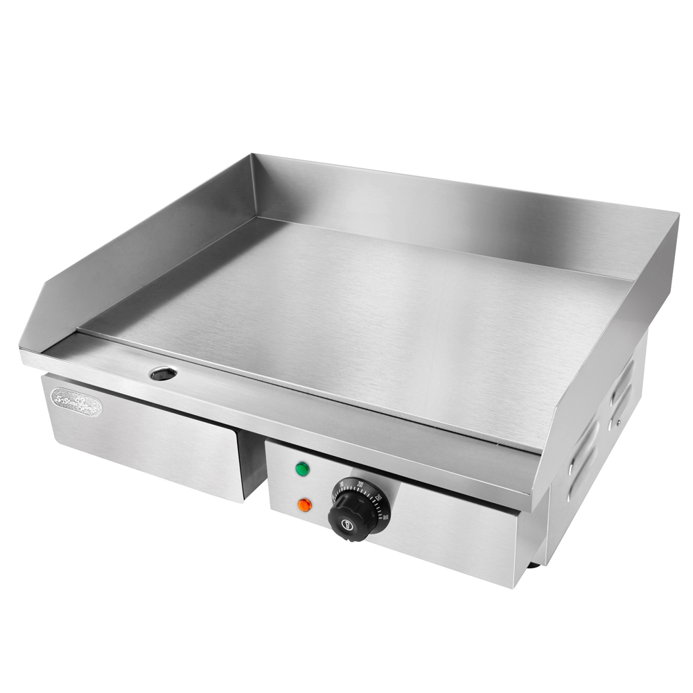 Commercial Flat Griddle Grill ~ Commercial electric griddle hot plate cm countertop