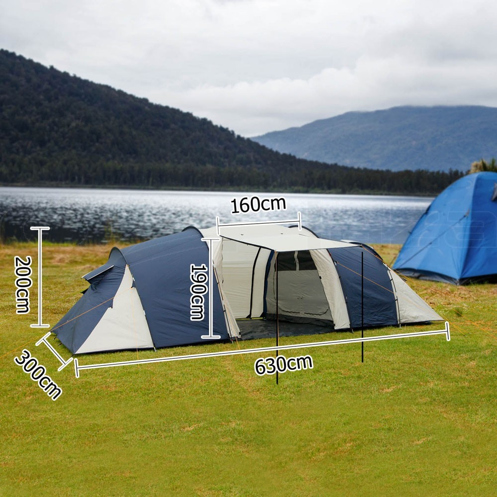 TENT 12 PERSON MAN FAMILY CAMPING DOME TENTS NEW OUTDOOR ...